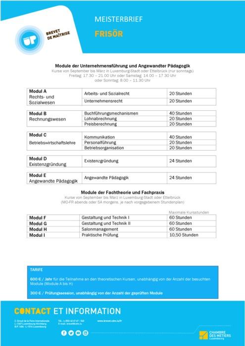 Infoblatt - 214-00 - Frisör