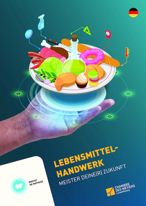 Broschüre Lebensmittelhandwerk - 150-00-DE